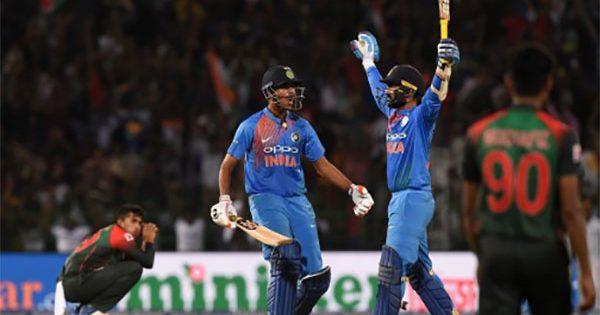 India winner of Nidahas trophy 2018