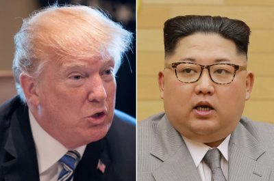 Trump and Kim jong young
