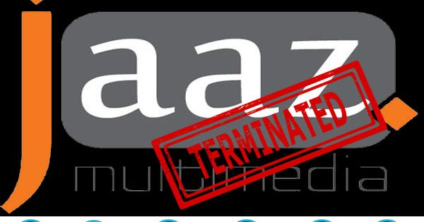 Jaaz Multimedia Youtube Channel Terminated