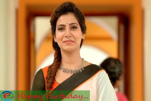 Happy birthday, Samantha Ruth Prabhu