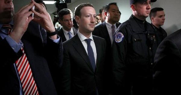 acebook chief Mark Zuckerberg