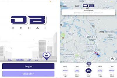 Ride sharing app obhai