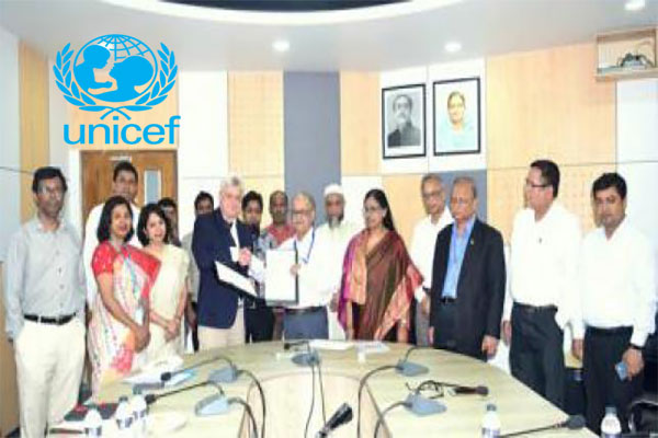 University grants and UNICEF to work together