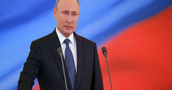 Putin sworn in as president for fourth term