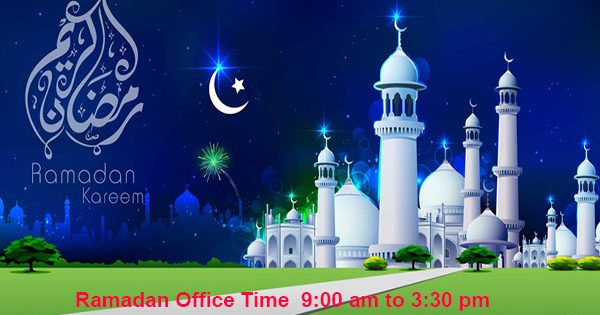 Ramadan Office time