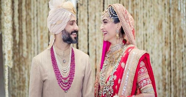 Sonam Kapoor now a married woman