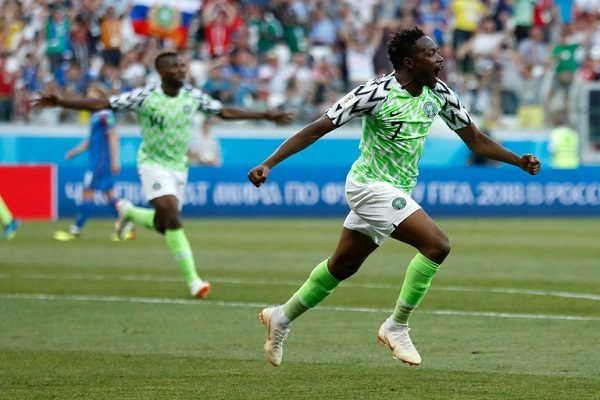 Nigeria a crucial win over Iceland