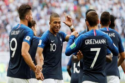 France win over Argentina in Knockout phase