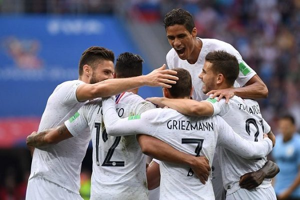France are into the semi-finals of the World Cup