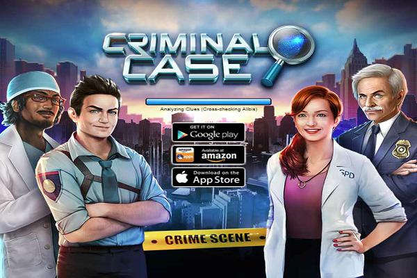 Criminal Case Games Energy Everyday