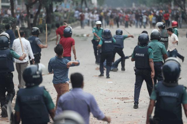 Police attacks on Students