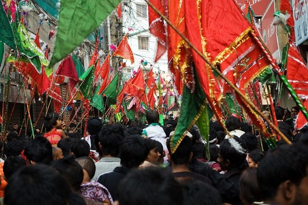 Holy Ashura is being celebrated today
