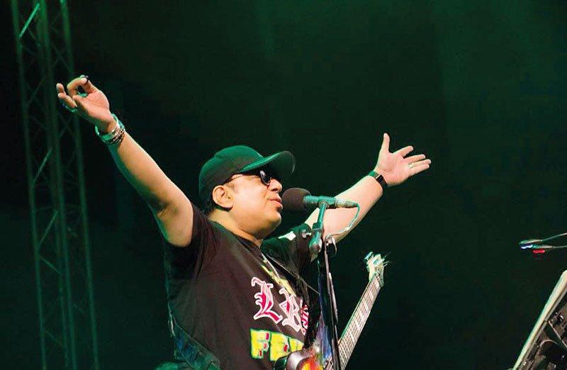 Bangladeshi musician Ayub Bachchu