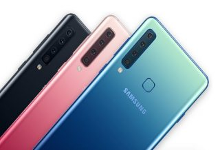 Samsung is the world's first smartphone with 4 back cameras