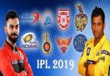 Indian Premier League (IPL) Schedule 2019