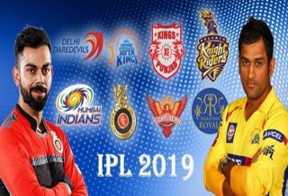 Indian Premier League (IPL) Schedule 2019