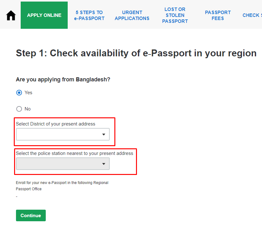 How to Apply for E Passport in Bangladesh